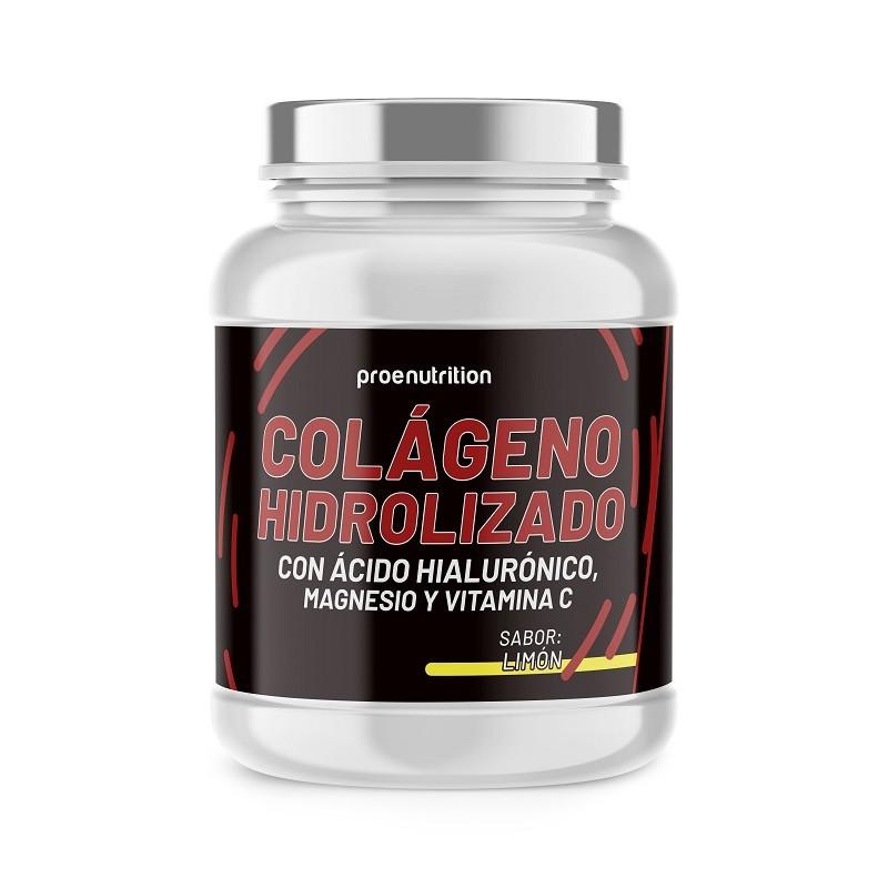 Colágeno hidrolizado (Mg, Á.Hialurónico,Vit C) Limón 400g